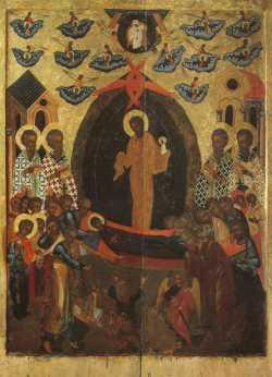 Картинки по запросу успение Богородицы икона