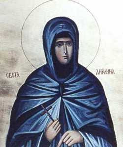 Прп. мать Ангелина Сербская