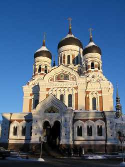 Таллинский Александро-Невский собор