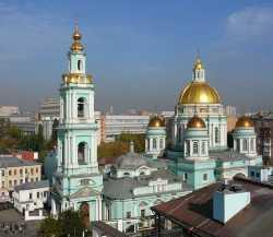 Московский Богоявленский собор в Елохове