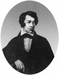 А.С.Хомяков. Портрет работы неизвестного художника. 1830-е годы
