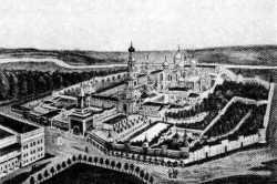 Николо-Угрешский монастырь. Гравюра 2-й пол. ХIХ в.