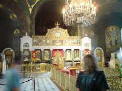 Иконостас Трапезной церкви во имя преподобных Антония и Феодосия Печерских