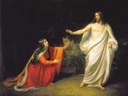 Явление Христа Марии Магдалине после воскресения, А. Иванов, 1835 г.