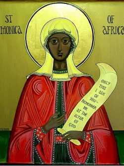 Икона св. Моники