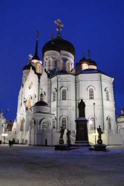 Благовещенский кафедральный собор города Воронежа