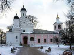 Московский Троицкий храм в Хорошеве, январь 2006 г. Фото Юрия Красильникова с сайта sobory.ru
