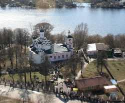 Московский Троицкий храм в Хорошеве. Фотография с официального сайта храма.