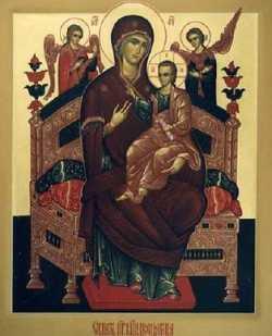 Симонопетрский образ Богородицы Всецарицы