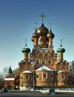 Московский Троицкий храм в Останкине, январь 2012. Фото с сайта sobory.ru