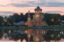 Московский Троицкий храм в Останкине, август 2011. Фото Анатолия Гордиенко с сайта sobory.ru