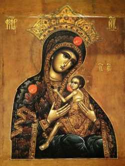 Арапетская (Аравийская) икона Божией Матери