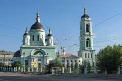 Московская церковь Сергия Радонежского, что в Рогожской слободе. Северный фасад. 25 июня 2010 года. Фото Александра Чеботаря.