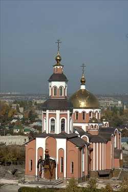 Смоленский храм Саратовского Алексеевского монастыря