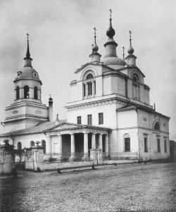 Церковь Покрова Богородицы, что в Красном селе, на ул. Красносельской, в Москве. 1882 год