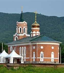 Корфовский Димитриевский храм.  Фото 9 июня 2013 г.