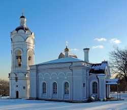 Церковь Георгия Победоносца в Коломенском, 2014 год