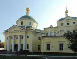 Видновский Екатерининский монастырь. Собор вмц. Екатерины, 23 сентября 2015