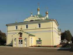 Церковь Петра и Павла Екатерининского монастыря г. Видное, 23 сентября 2015