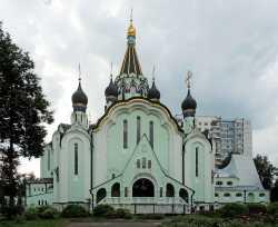 Церковь Воскресения Христова в Сокольниках.6 июля 2014
