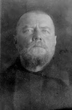 Протоиерей Николай Фетисов. Тюремное фото.
