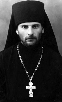 Иеромонах Гавриил (Ургебадзе). Фото 1955-1965 гг.